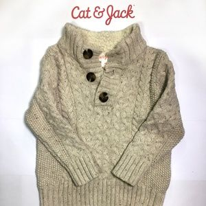 Cat & Jack Toddler Knit Sweater - Like New